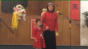 Adorable Little Girl Singing - snapshot